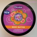 Kruidvat body butter cranberry pomegranate