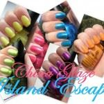 China Glaze Island Escape Collage