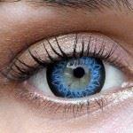 Ooglook voor blauwe ogen