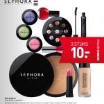 Prijzencircus Sephora 3 voor 10