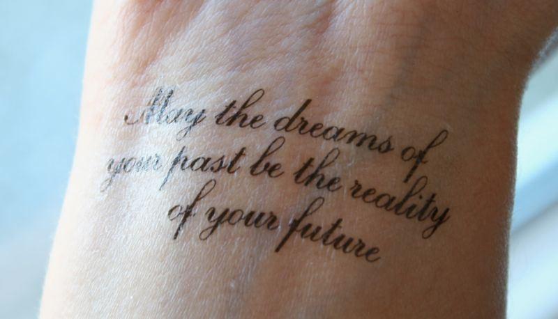 Mooie Tekst Tattoo Kerenmeghanjuli News