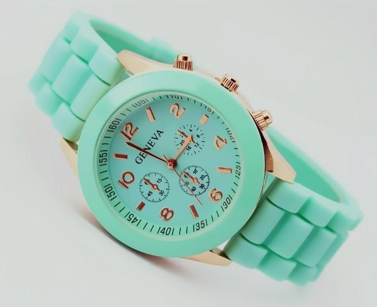 mintgroen-horloge