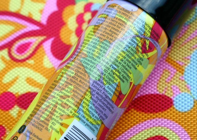 Amika Touchable Hair Spray ingredienten
