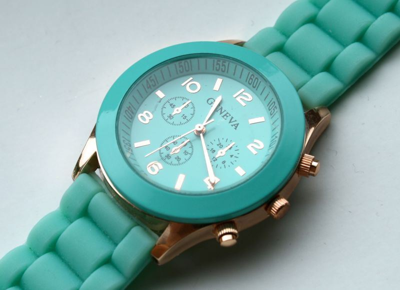 budget mint groen horloge ebay
