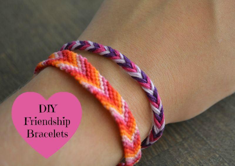 DIY vriendschapsarmbandjes
