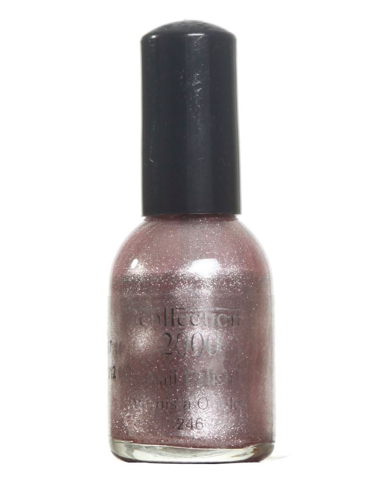 collection 2000 frosted nail polish 2 46 purple
