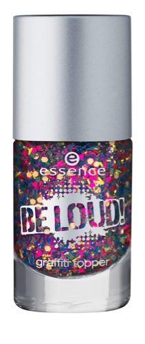 essence Be Loud Graffiti Topper