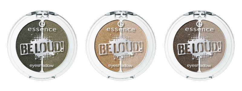 essence be loud eyeshadows