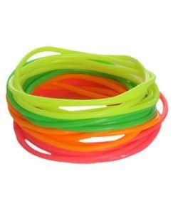 plastic neon armbandjes