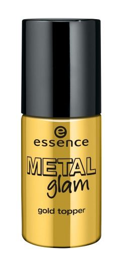 essence metal glam gold topper