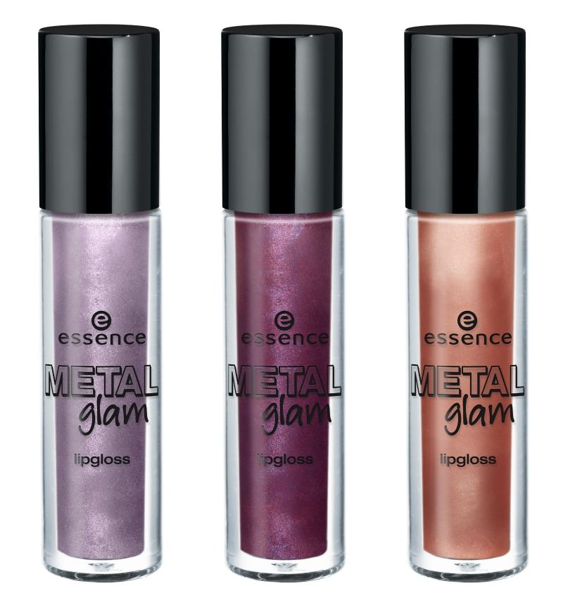 essence metal glam lipglosses