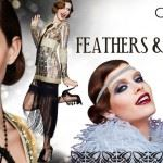 caprice feathers pearls
