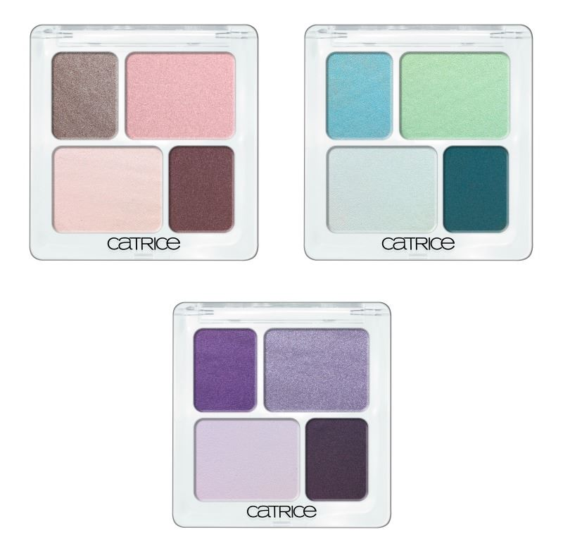 Catrice lente zomer update 2014 eye colour quattro