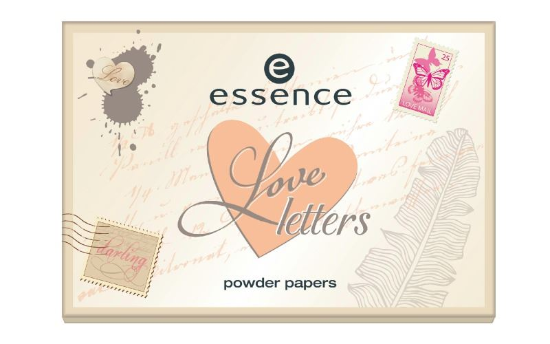 essence love letters powder papers