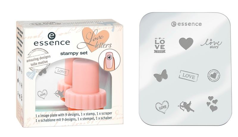 essence love letters stampy set