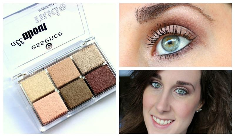 Look Essence All About Nude Eyeshadow Palette
