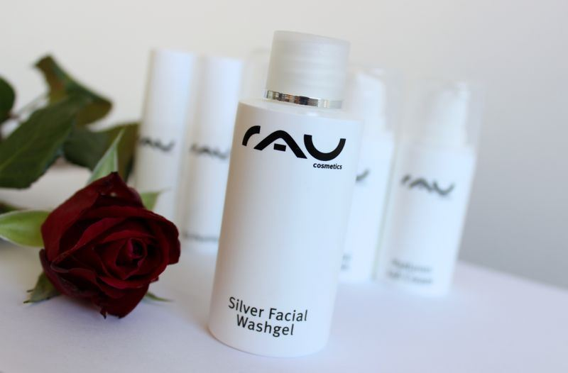 RAU cosmetics Silver Facial Washgel