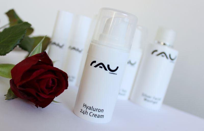 RAU cosmetics hyaluron 24h cream