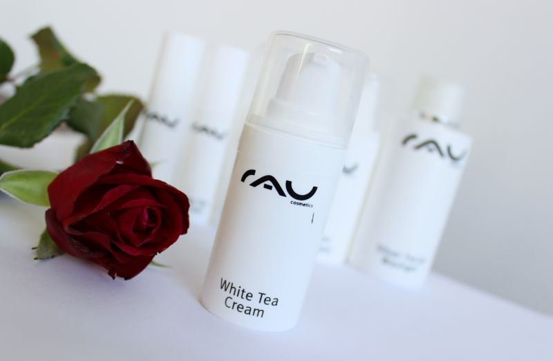 RAU cosmetics white tea cream