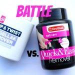 Battle Nagellakremover met sponsje