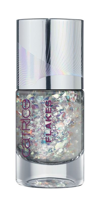 Catrice Haute Future holographic flakes topcoat