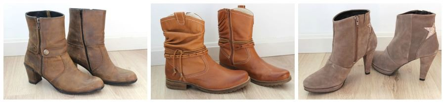 new in 3x new boots