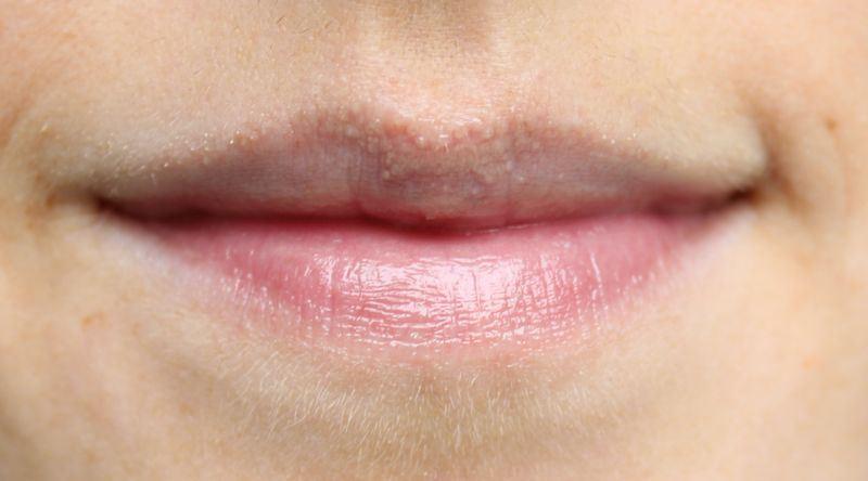 Chapet lip balm swatch