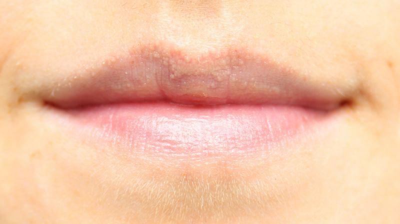 Figs rouge vanilla orange sheer shimmer lip balm swatch