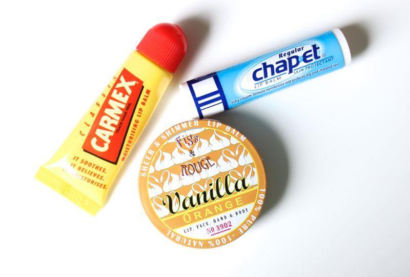Lippenbalsem test