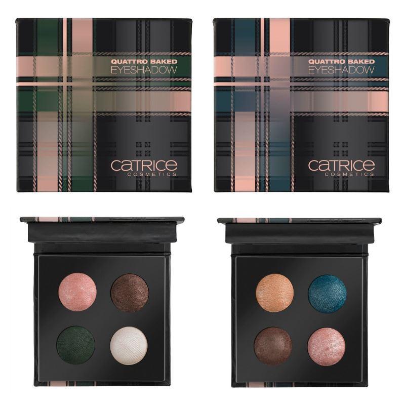 Catrice Check Tweed Quattro Baked Eyeshadow
