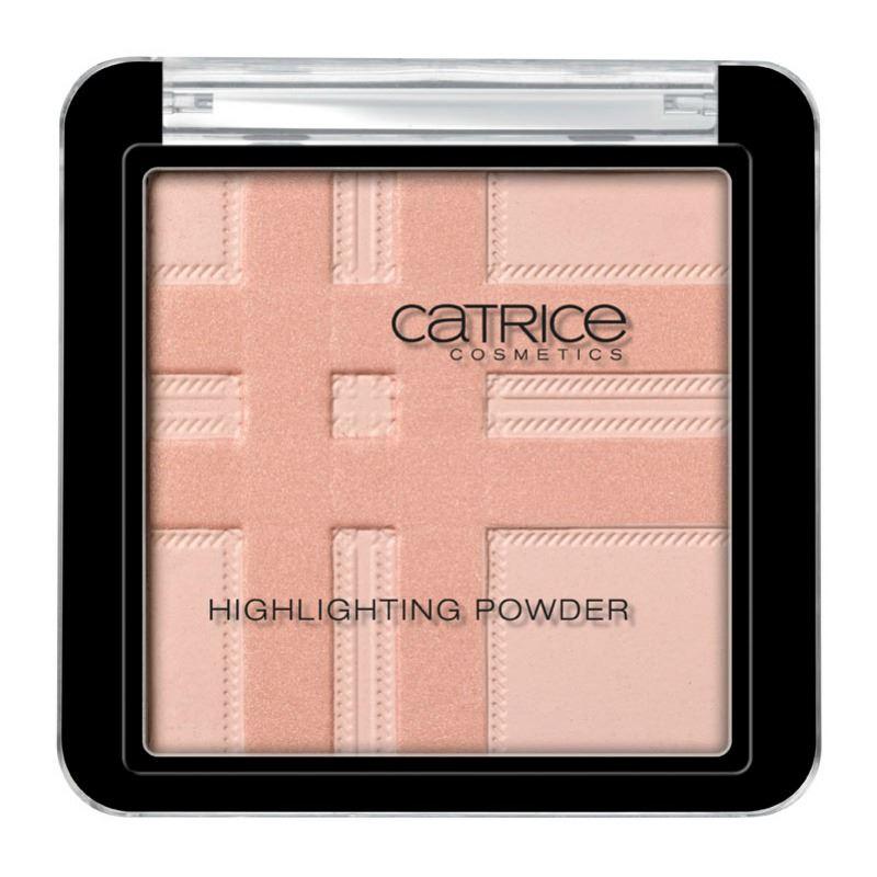 Catrice Check Tweed highlighting powder
