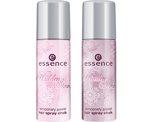essence hidden stories Hair Spray Chalk