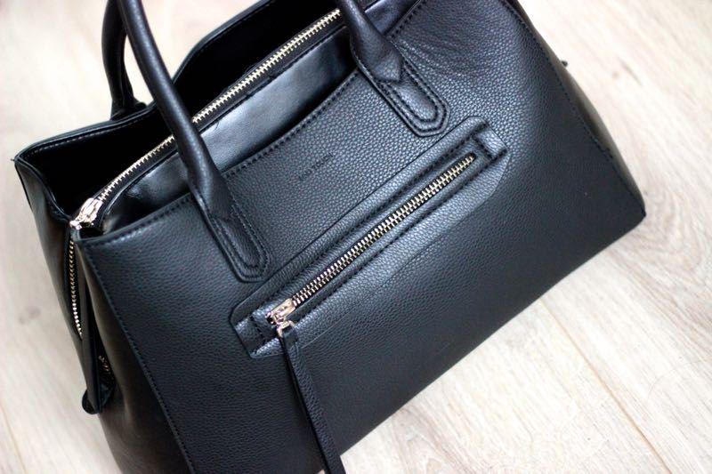 MNG Touch zwarte handtas