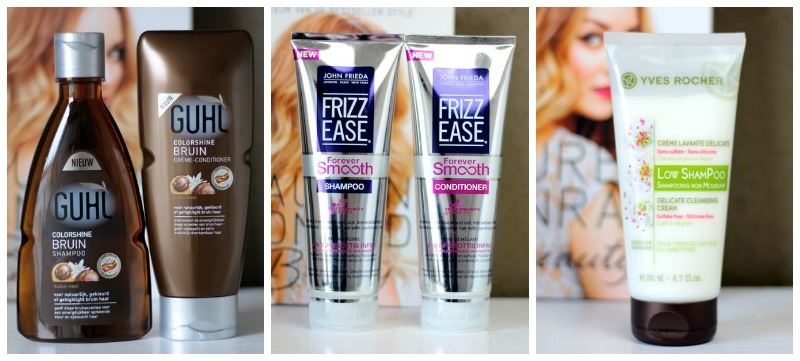 multireview shampoo conditioner guhl john frieda yves rocher