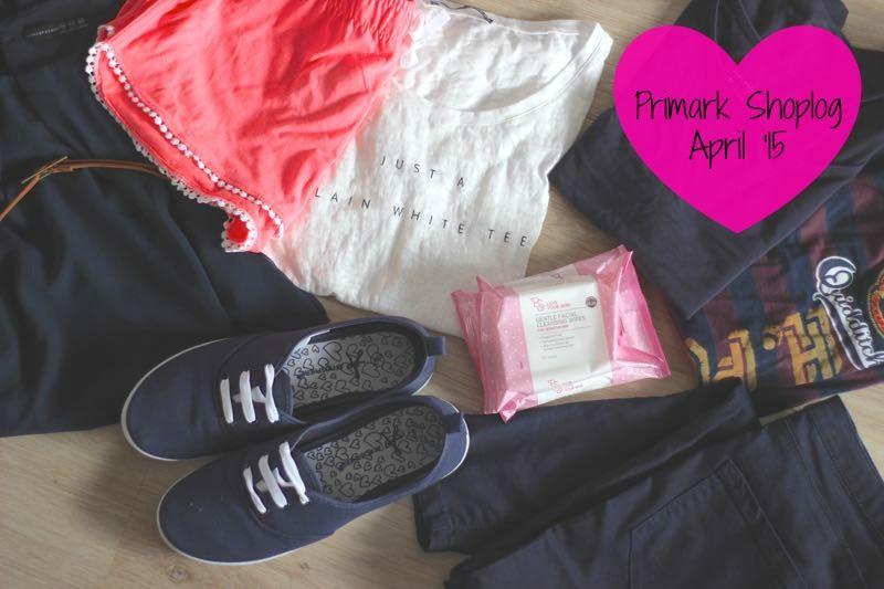 Primark Shoplog April 2015