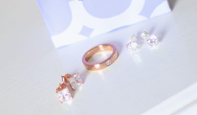 Lucardi rose goud sieraden