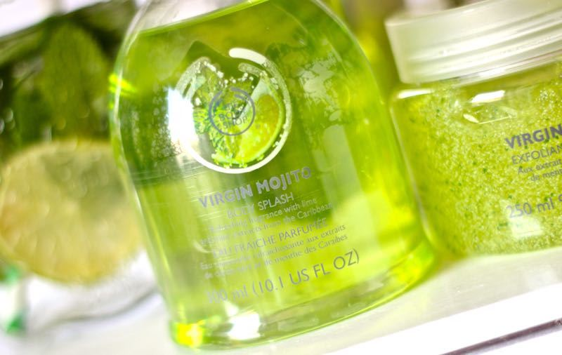 The Body Shop Virgin Mojito body splash