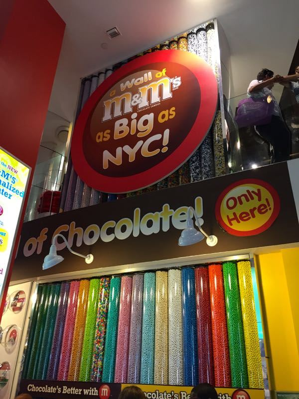 New York Times Square M&M Store