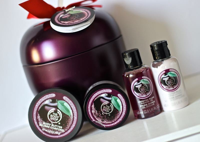 The Body Shop Frosted Plum gift set