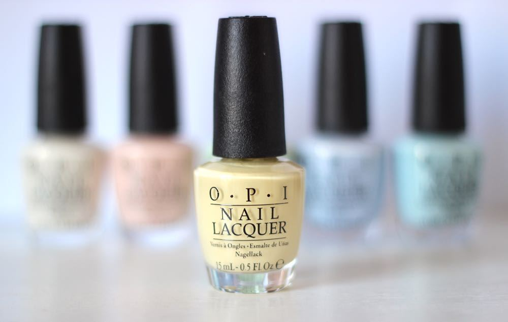 opi soft shades pastels one chic chick