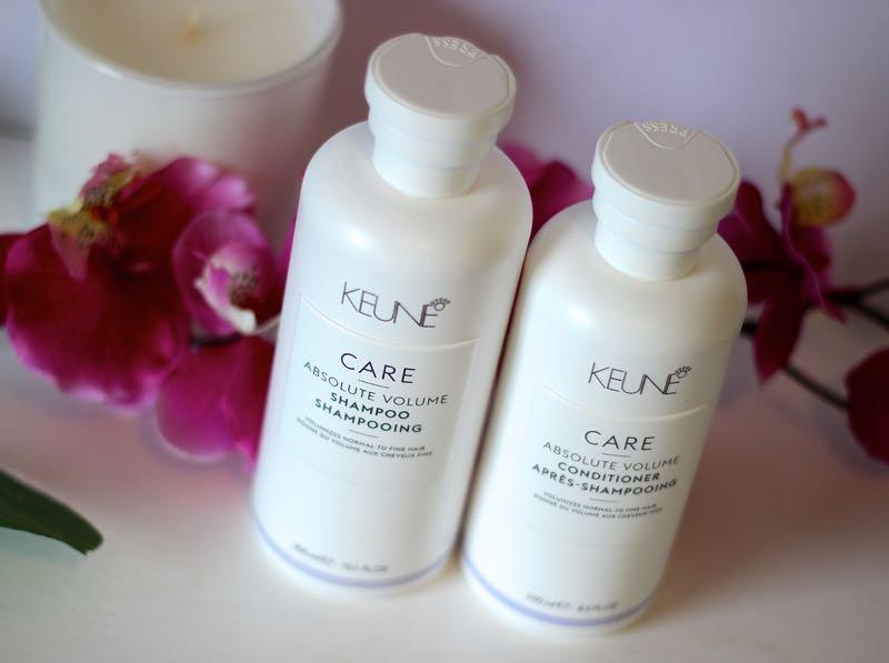 Keune Absolute Volume Shampoo Conditioner