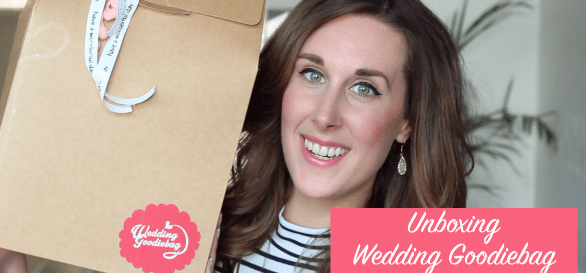 Unboxing Wedding Goodiebag