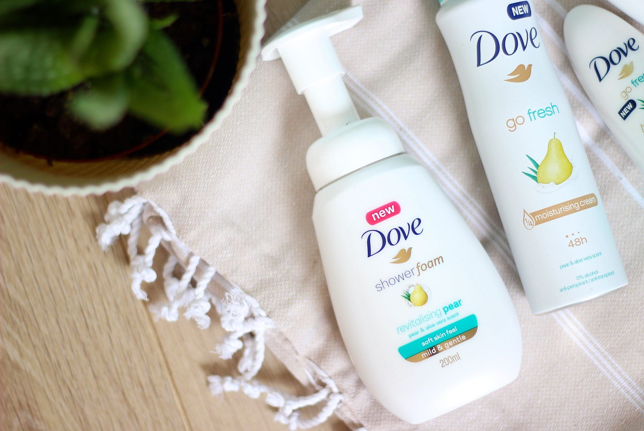 Dove Go Fresh Peer Aloe Vera douche foam