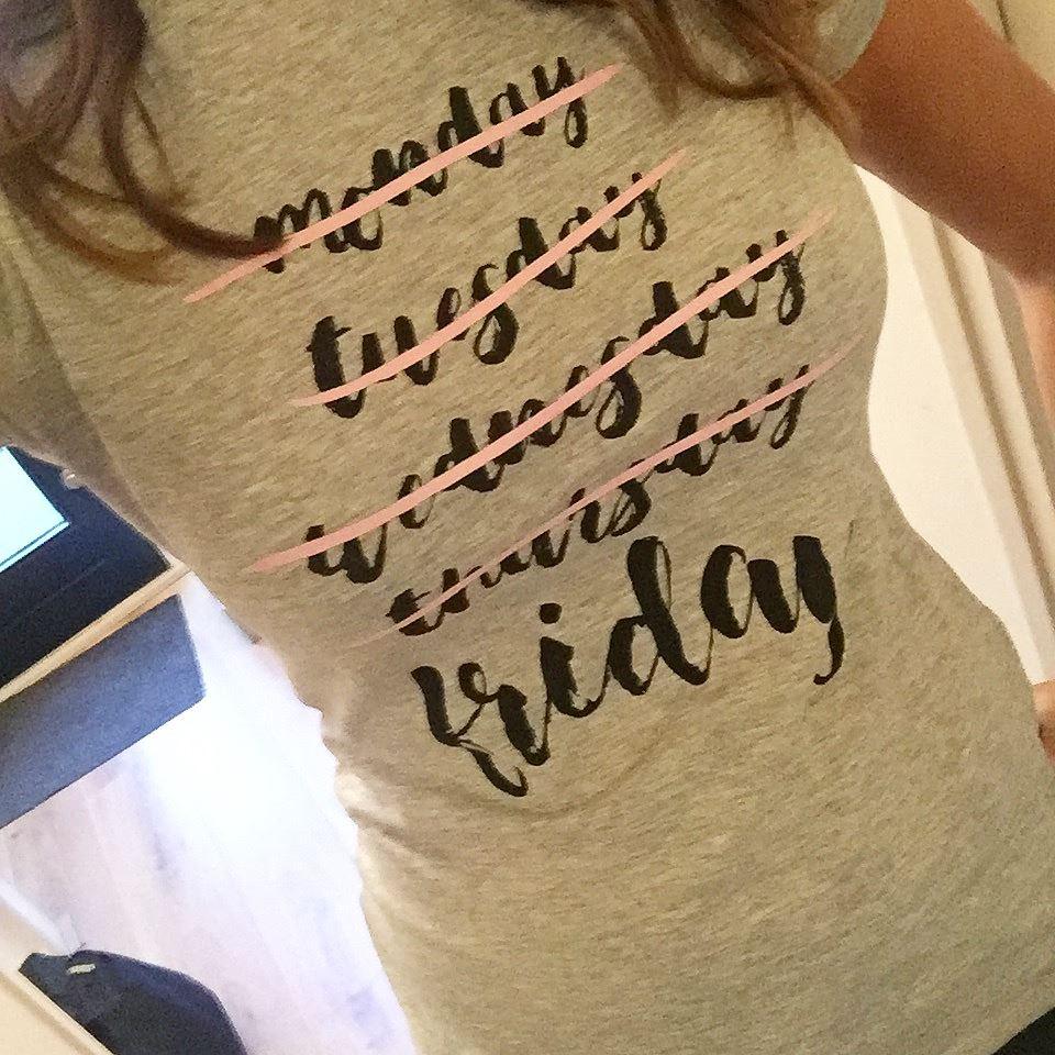 Laura's Life 4 friday t-shirt