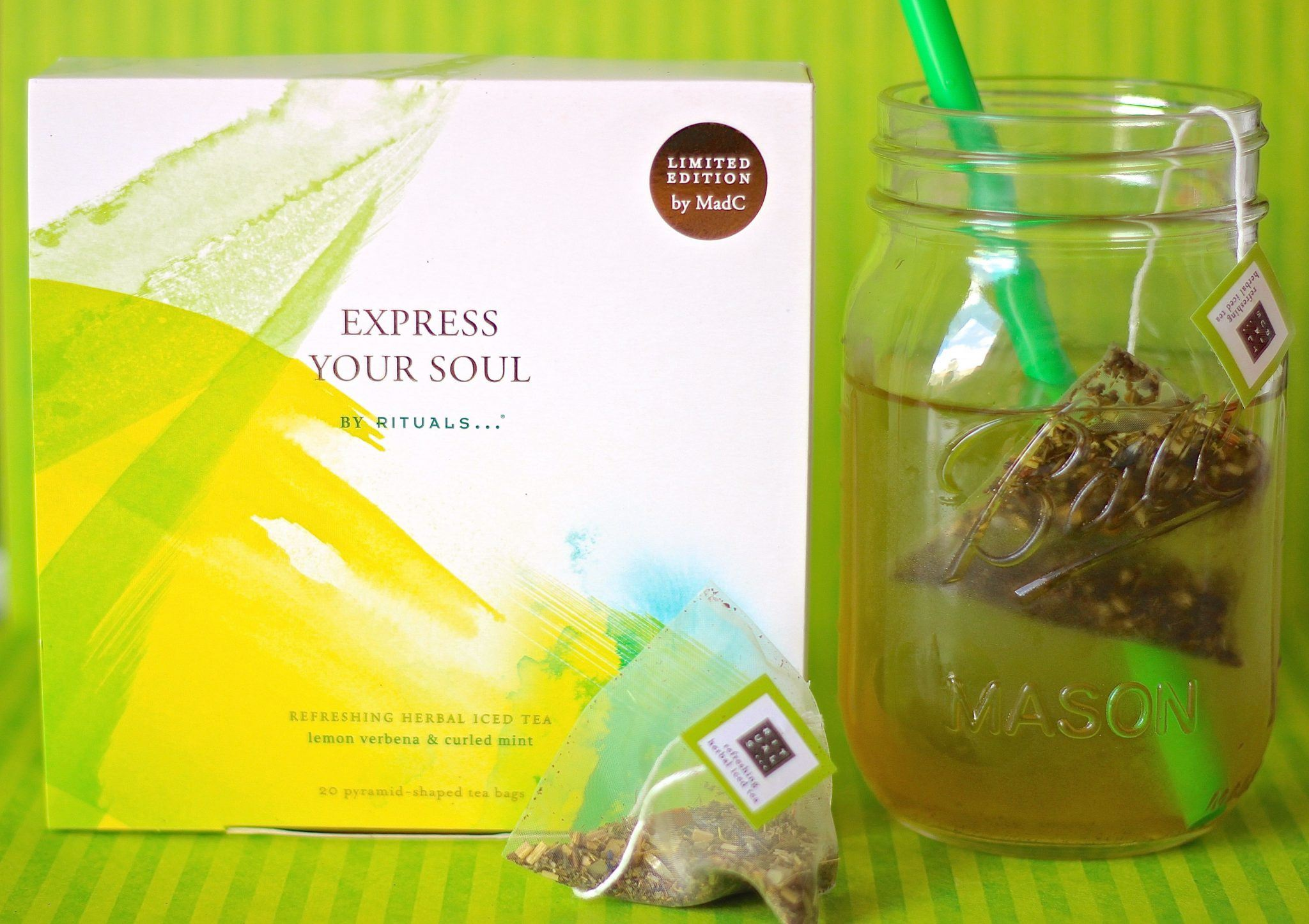 Rituals Express Your Soul iced tea