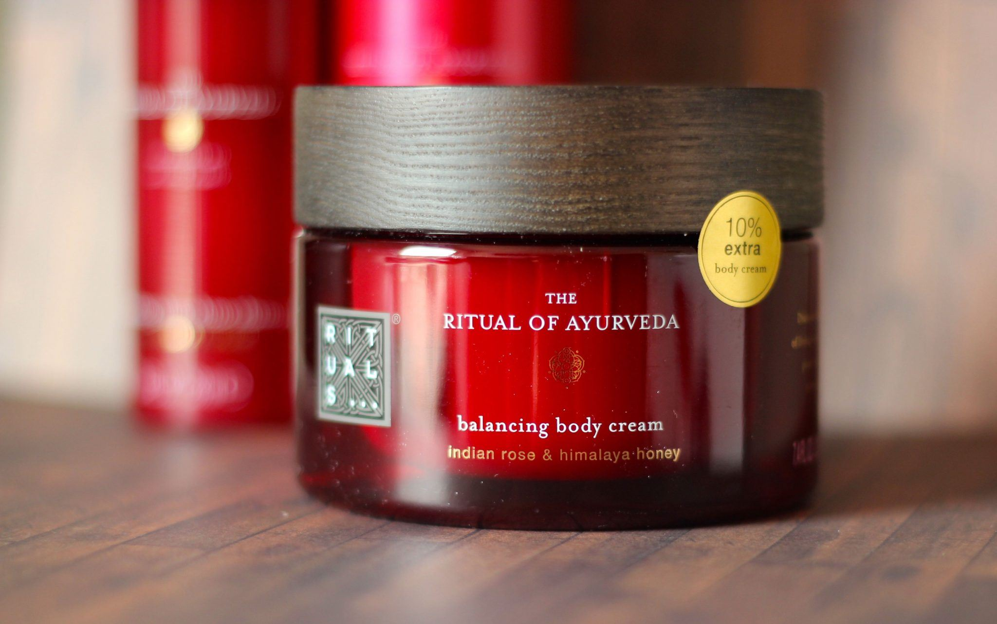 Ritual of Ayurveda balancing body cream