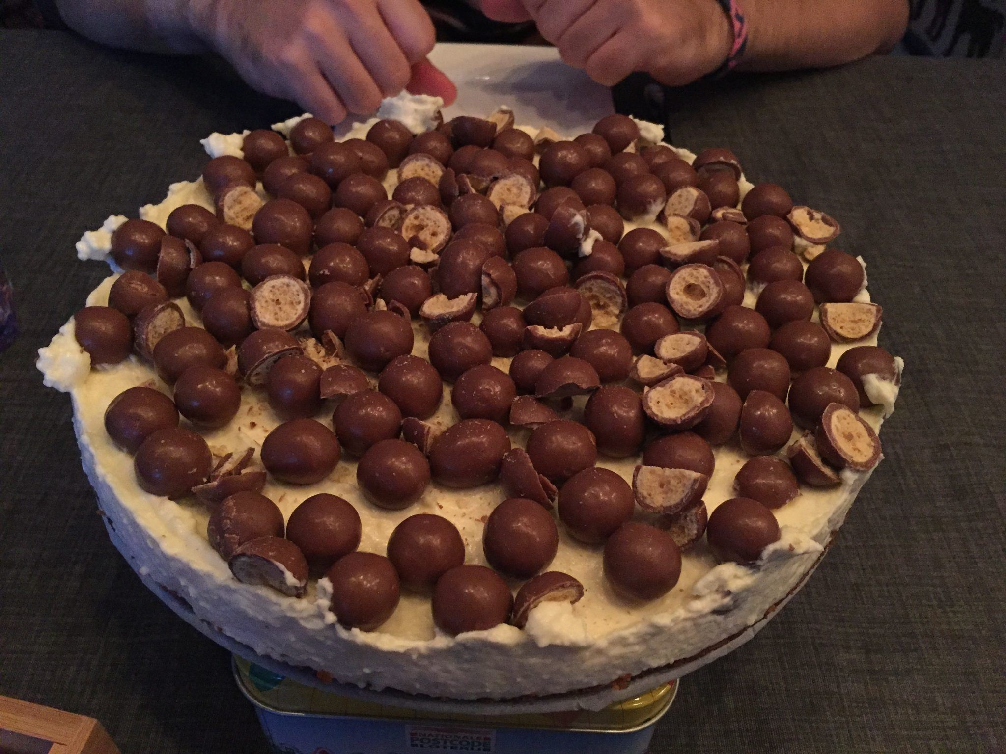 Laura's Life Maltesers cheesecake