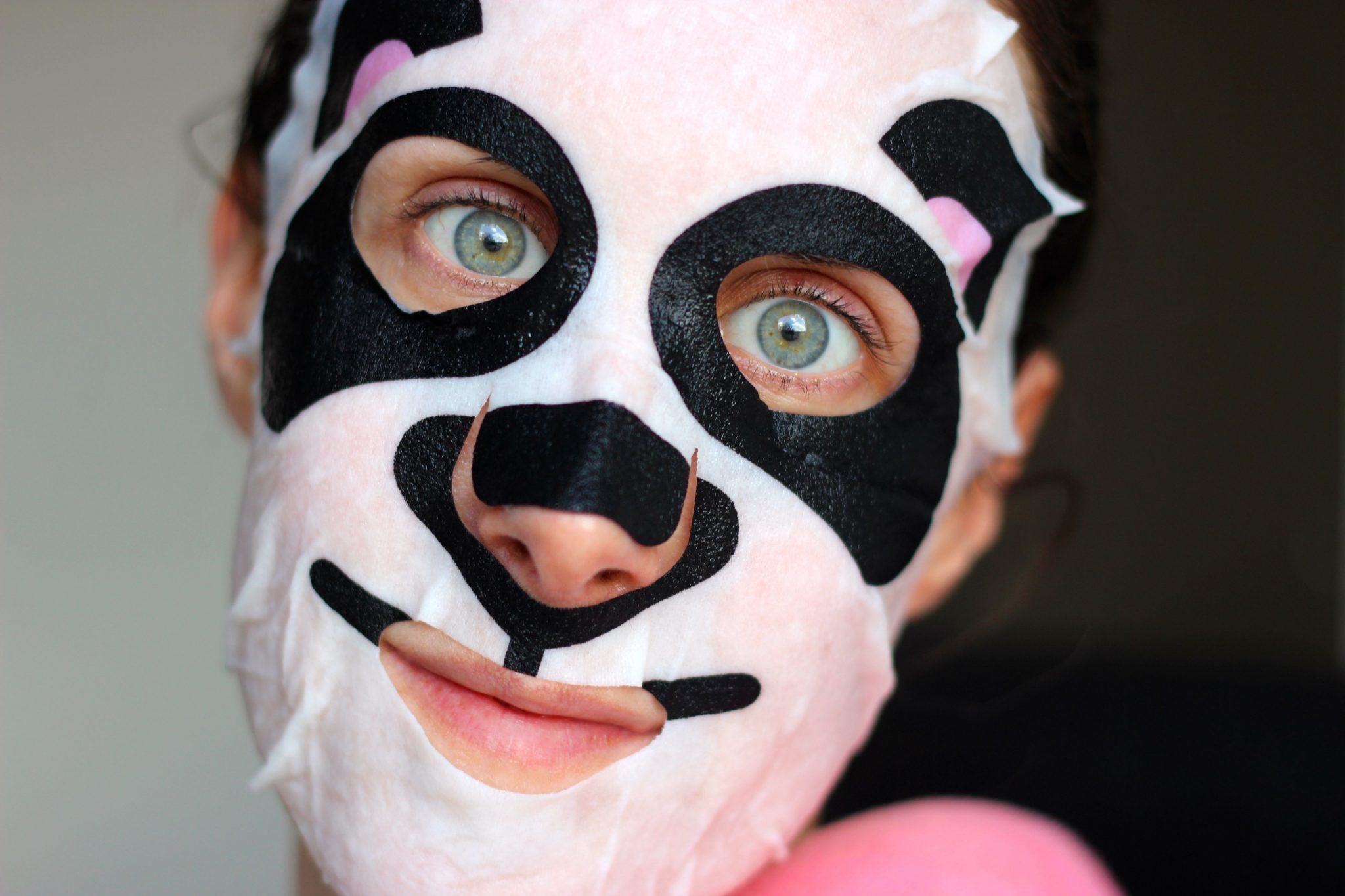 Action Facial Sheet Mask Panda Face