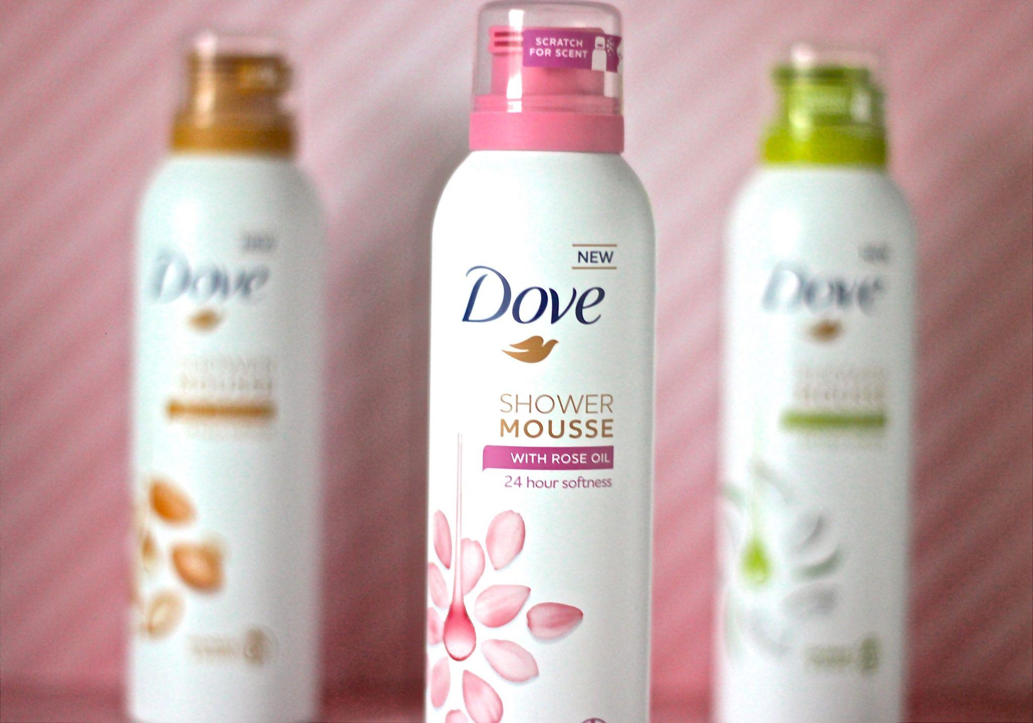 Dove Shower Mousse rose