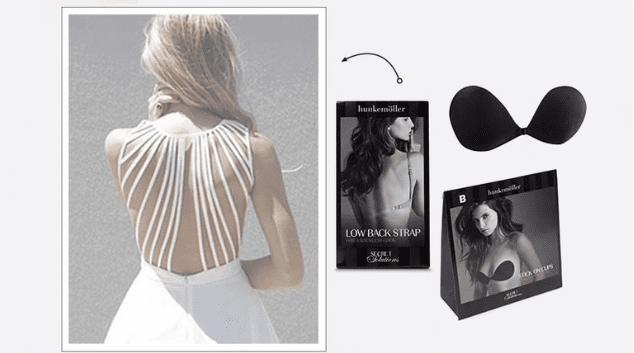 Jurk lage rug lingerie
